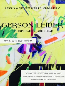 Gerson Leiber - Implications invite