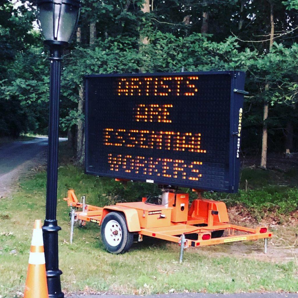 Warren Neidich Artists Are Essential Workers